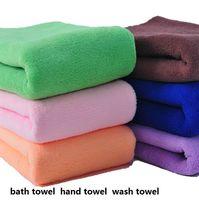 babies quality bath towel - Mocol High quality bath towel hand towel wash towe GSM l color Red blue green purple coffee orange dark pink M X XL beach towels