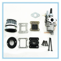 Wholesale HP fibre carbon reed and carburetor kit for stroke cc cc engine Mini Pocket Bike Dirt Bike and ATV Quads