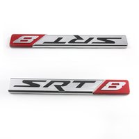 aluminum nameplate - SRT8 Street Racing Technology Aluminum Emblem Badge Nameplate Logo Decal Rare JDM for Dodge Challenger Charger Magnum Chrysler