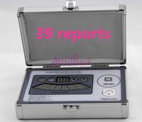 al por mayor resonancia magnética cuántica analizador español-Pro Analizador de Resonancia Magnética Quantum 39 informes Español Francés Alemán Inglés múltiple escáner corporal analizador de la salud versión de alta calidad