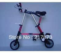 Cheap Mini bike Folding not electric bicycle Tire 8 inches Weight 6.7 kg High-end fashion Compact lightweight Rapid folding Portable