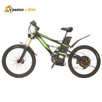 Wholesale Passion Ebike V Electric Bicycle Full Speed km Mountain Electric Bike for W W Motor