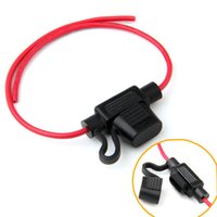 Wholesale 14AWG Wire In line Car Automotive Blade Fuse Holder Fuseholder A