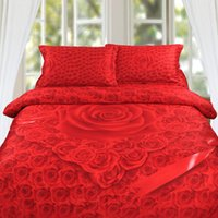 bedding buy - Cotton Big Red Rose D Printed pcsty wxuege Buy Cheap Bedding Sets D Bedding Set