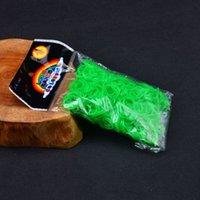 Cheap 600pcs bag(600bands+24 C S clips+1hook)Transparent Glitter Jelly Color Colorful Loom Bands Diy Rainbow Bubber Bracelet Loops