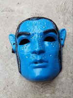 avatar film - New Arrive Boys Avatar Jake Sulley Deluxe Child Party Halloween Mask Masquerade Mardi Gras Mask Child Std