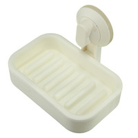 bath accessories tray - Soap Dish Holder Strong Suction Bathroom Shower Accessory Cup Tray Chuck Bath Washroom Supplies