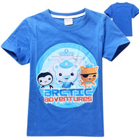 Wholesale Retails Octonauts clothes baby children boys kids clothes summer boys t shirt clothes boys garment clothing to years olds