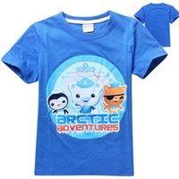 Wholesale Retails Octonauts boys clothes baby children boys kids clothes summer boys t shirt clothes boys garment clothing to years olds