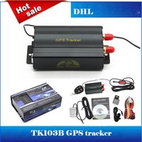 Wholesale TK103B Vehicle GPS Tracker TF Card GPS GSM GPRS Real Time Global Track PC web Based Car GPS Tracking System With Remote Control