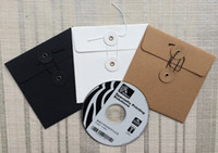 cd covers - Kraft Paper CD DVD Case Cover Bag Envelope Sleeves Packaging Organizer Colors x13cm