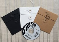 cd dvd sleeves - Kraft Paper CD DVD Case Cover Bag Envelope Sleeves Packaging Organizer Colors x13cm