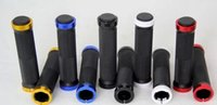 Wholesale The set of mountain bike straight bilateral selling bicycle lock the bicycle parts non slip handle
