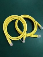 Wholesale 200PCS freeshipping Gold Plated M FT m FT RJ45 cat5e cat6 utp Ethernet Network Patch Cable