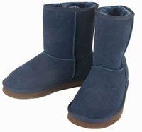 bags australian - Classic short WGG style Women s snow boots Winter Fashion style Warm With Certificates dust bag australian boots casual shoes