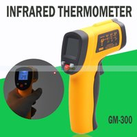 Wholesale Benetech LCD Digital Infrared Thermometer Pyrometer Laser Point Temperature Meter GM300