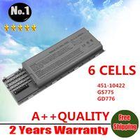 Wholesale New CELLS laptop battery For Dell Latitude D620 D630 D630c D631 series GD775 GD787 JD605 JD606
