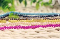 Wholesale mm Loose beads glass beads charm bracelets necklaces DIY craft materials crystal beads Fashion jewelry AL