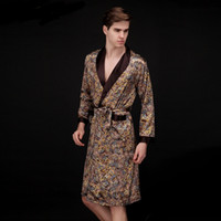 men's bath dress sleepwear robes