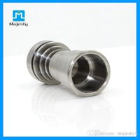 Wholesale Majesty High Quality MJB TF48 Titanium Nail For Wax Carb Cap Oil Rig Titanium Dab Tools For Water Pipe Glass Bong