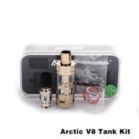 arctic silver - Horizon Tech Hottest Sub Ohm Tank with Stainless Black Gold Rose Gold Colors Available Horizon Arctic V8 Sub Ohm Tank