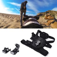 Wholesale AOBONA Dog Harness Puppy Pet Accessory Kit Doge Fetch Accessories Set for GoPro Hero Camera Dog Harness Set