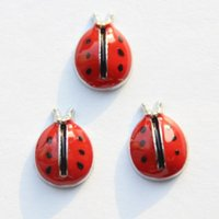 lady bug - lady bug charms2 floating charms for living locket