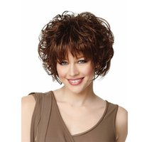 Wholesale women s wig beautiful new sexy fashion naturally wet and wavy synthetic short wigs for black women