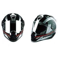 Wholesale Italian Ducati Arai foreign brands ultralight fiberglass top racing motorcycle helmet full helmet