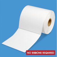 Wholesale 4 x Desktop Direct Thermal Labels Roll of Custom Sticks shipping labels no ribbons Required