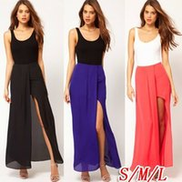 Cheap women's chiffon loose skirt Best long women's chiffon loose skirt