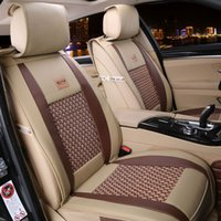 leather seat cover - Covers For Car Seats Colors Cool Car Seat Covers Pieces Set Car Seat Cover Sets Leather And Silk Fabric Summer