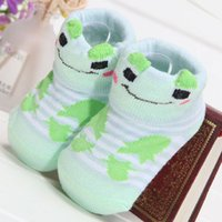 baby shoe tights - Hot Pair Baby Anti Slip Newborn Month Cotton Lovely Cute Shoes Boy Girl Unisex Skid Socks Animal Cartoon Slippers Boots