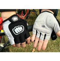 Wholesale NEW Cycling Bike Bicycle Silicone half finger gloves Size XL L M Blue GL155548