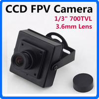 Wholesale Professional quot TVL PAL CCD FPV Digital Camera mm CCTV Lens for RC Quad Copter Drone FPV Photography CCTV Camera