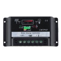 Wholesale 1pc A Actuaully V V Auto Distinguish PWM Solar Street Light Panel Charge Controller