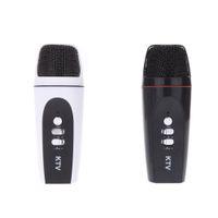 Karaoke Player - Portable Mini mm Microphone Karaoke Player Audio Recorder for iPhone Android Smartphone PC Mini Karaoke Player