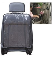 Wholesale High Quanlity Pro Hot Sale Black Kids Car Auto Seat Back Protector Cover For Children Kick Mat Mud Cleaner
