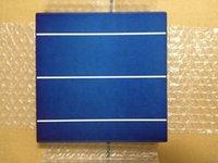 Wholesale 4 W W mm polycrystalline3 busbar Solar cell x6 inch solar cell grade A quality