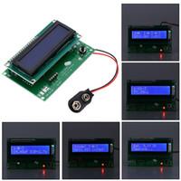 backlight tester - LCD Backlight Transistor Tester Multi functional Didoe Triode Capacitance Resistor ESR Meter Inductance MOSFET NPN PNP Detector E0888