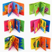 Wholesale 2015 Hot New Intelligence Development Cloth Cognize Book Early Educational Learning Cute Animals Figures Book For Baby Kids Toy