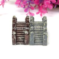 Wholesale 1pcs Small Resin Stone Bridge Ornament Scenery Bonsai Home Gardening Accessories