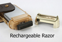 best beard trimmers - Best selling Portable Trimmer Beard Accessories Reciprocating Shaver Charge Type Razor Electric Rechargeable Razor
