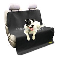 Wholesale New Car Back Water proof Seat Cover Pet for Cat Dog Protector Mat Rear Safety Travel Black