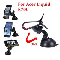 acer tablet car mount - Newest Car Windshield Mount Stand phone tablet for pad Holder For Acer Liquid E700 and GPS