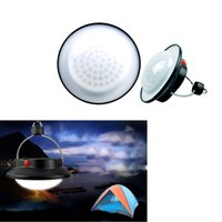 applied strobe - Applied Outdoor Indoor Portable Camping LED Lamp with Lampshade Circle Tent Lantern White Light Campsite Hanging Lamp