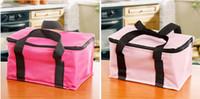 aluminum foil heat insulation - 600D oxford ice bag cold or heat preservation insulation bag inner aluminum foil outdoor food or drink pack