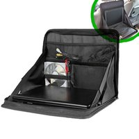 auto work table - Travel Car Laptop Holder Hippo Tray Bag Mount Back Seat Auto Food Work Table Organizer