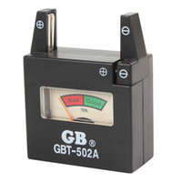 aa cell batteries - GBT A Battery Tester for V AA AAA C D N Batteries V Button Cell Batteries CHA_399