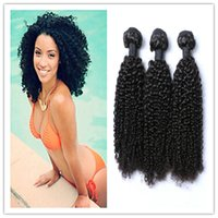 africa colors - 8A Mongolian Hair Bundles Virgin Hair Wefts Africa Kinky Curly Hair Weaves Unprocessed Remy Human Hair Extensions g bundle